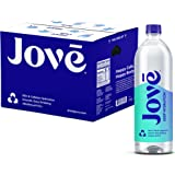 Jove Alkaline pH Water, Skin & Cellular Hydration, pH 9.5+, Smooth & Easy Drinking, 1 Liter (Pack of 12)