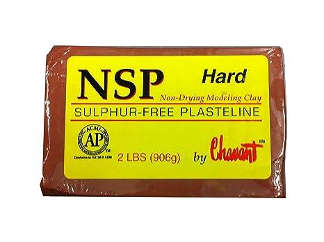 Chavant Nsp no es el secado azufre escultura libre 1,13 kg de arcilla/