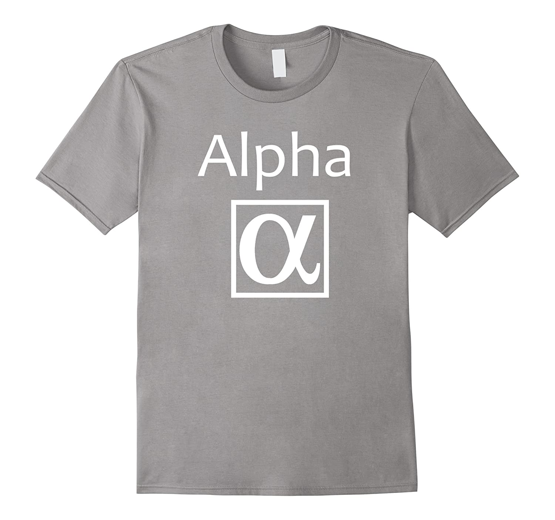 Alpha Greek Symbol Tee Shirt-TH