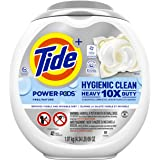 Tide Pods Hygienic Clean Heavy Duty 10x Free Power PODS Laundry Detergent, 41 count, Unscented, For Visible and Invisible Dir