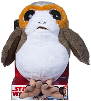 Star Wars 23946 episodio 8 porg peluche, ...