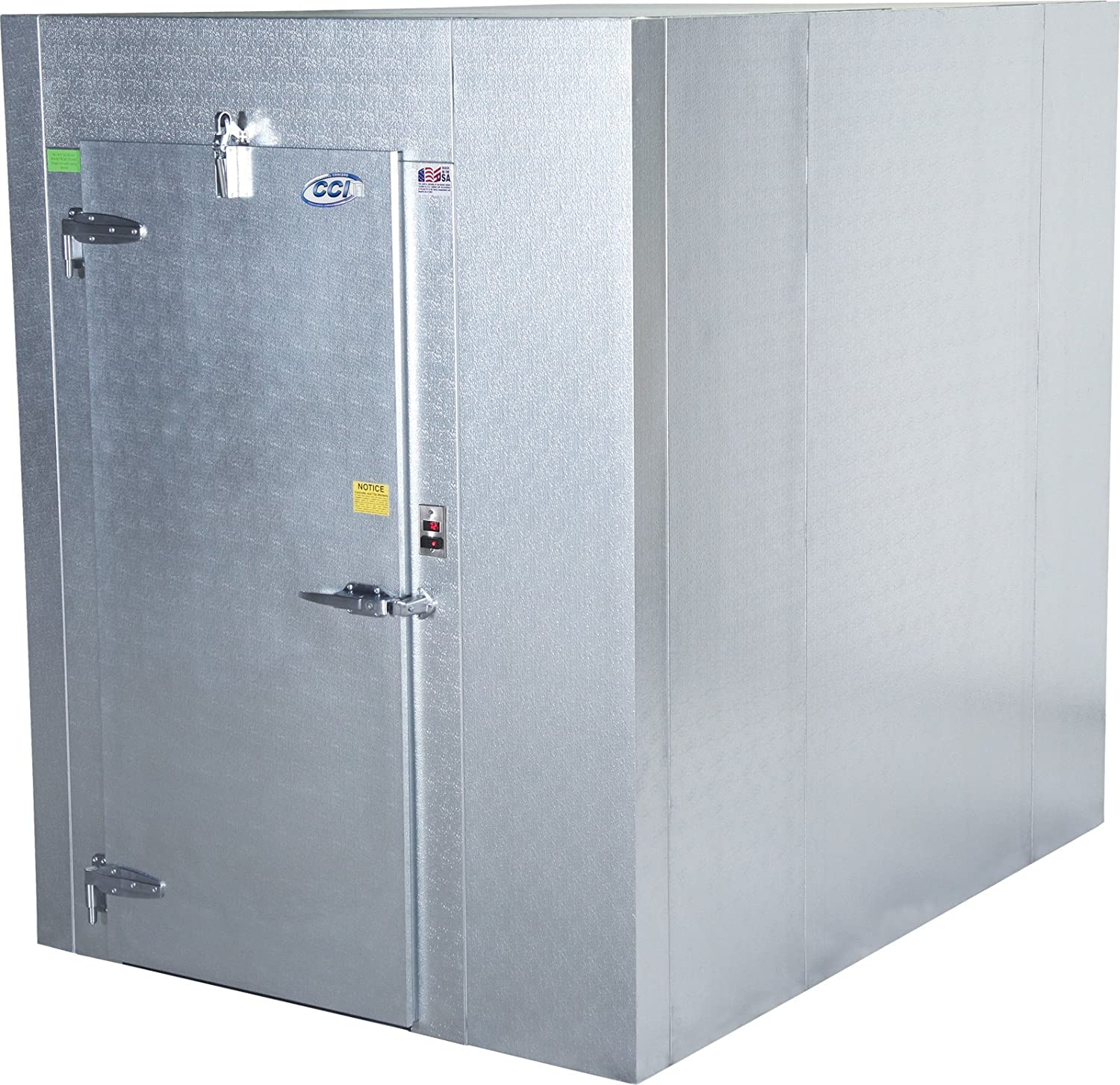 Carroll Coolers, W550408080-0101, Indoor Walk-in Freezer, Size in Feet: 8 Height, 8 Length, 8 Width, Includes Wire Shelving 81WPjKmpp4L._SL1500_