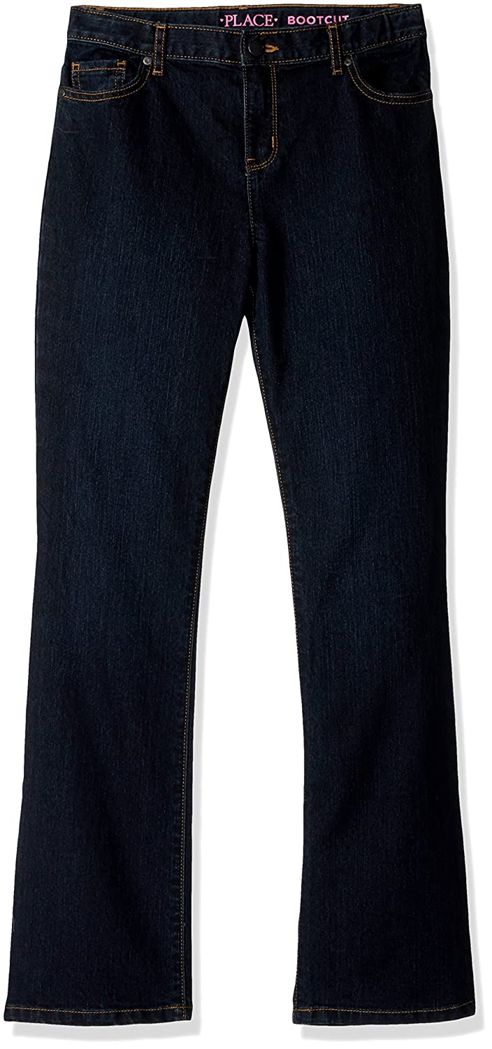 The Children's Place Girls' Bootcut Jeans,