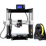 UNICUBIC U1 Hochpräzisions 3D Drucker, Prusa i3 DIY Unmontierter 3D-Drucker-Kit, Max. Druckgröße 210 * 210 * 225mm, Free 0,25 Kg Free Filament, 12 Monate Garantie