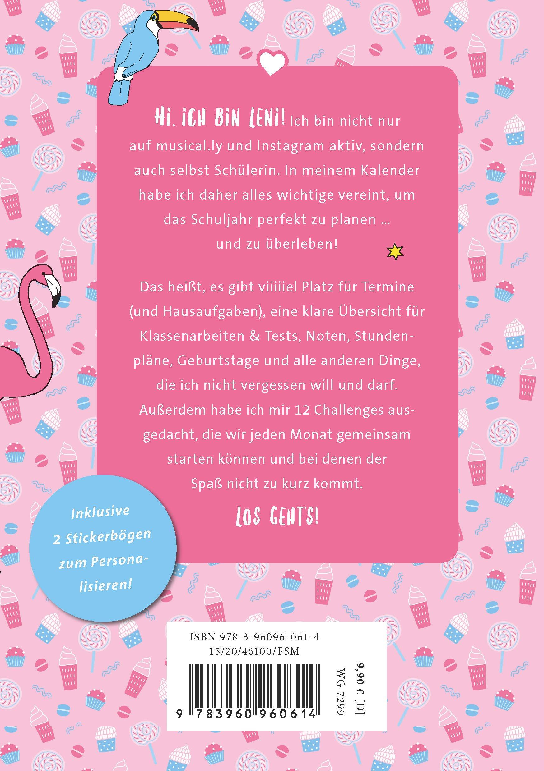Schülerkalender 2018/2019: von Leni Marie: Amazon.de: lenimariee: Bücher