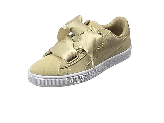 4d9bb6223c8b58 Puma Women s Suede Heart Safari Low-Top Sneakers  Amazon.co.uk ...