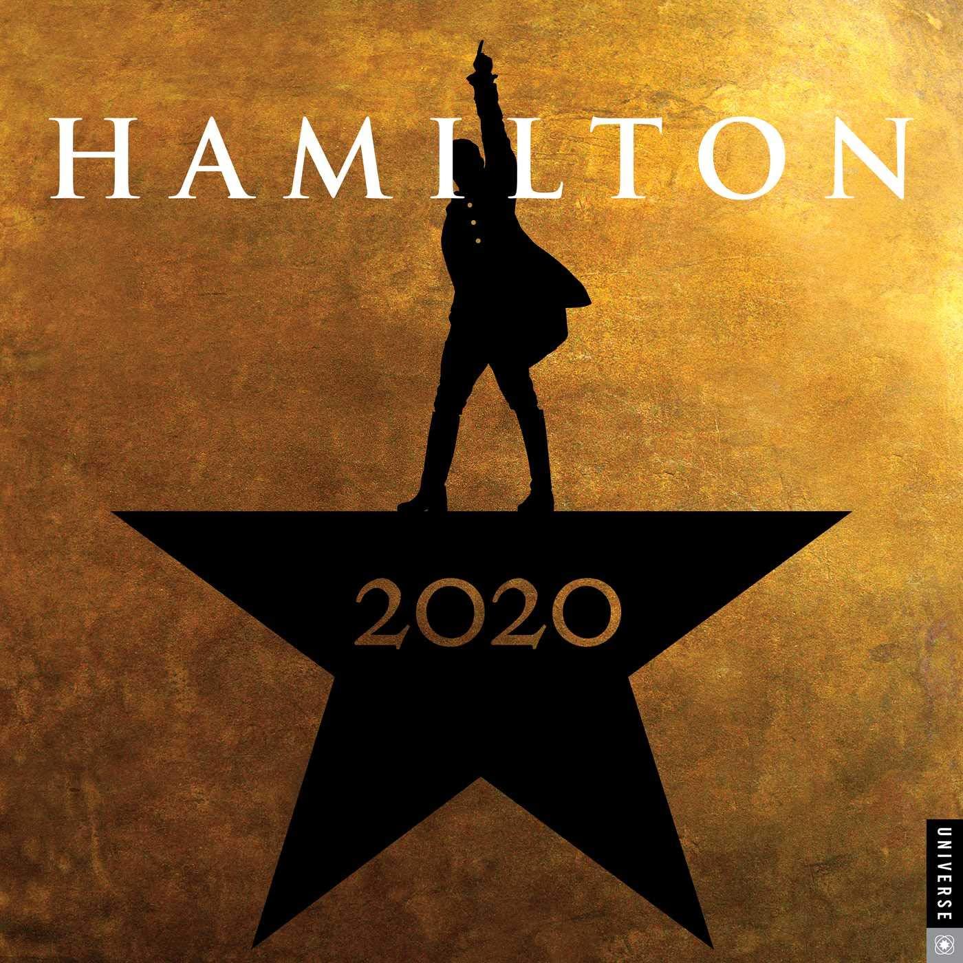 "HAMILTON 2021 WALL CALENDAR 12/""X12/"""