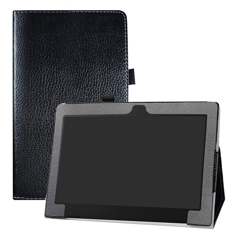 Soporte Cuero con Slim PU Funda Caso Case para 10.1 Lenovo ideapad d330 Tablet,Almond Blossom LFDZ Lenovo ideapad d330 Funda