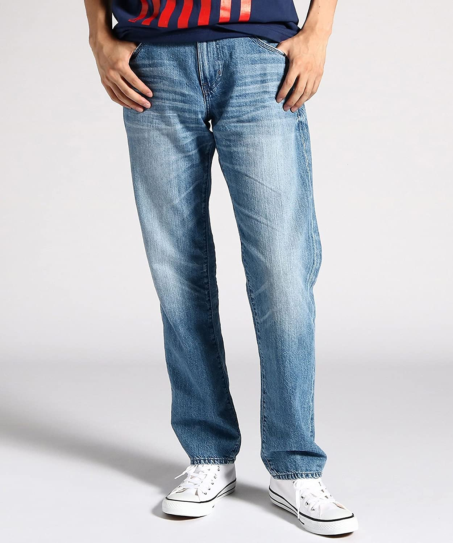 Arizona Jeans NEU Gr.44,46,48,50 Herren Denim Hose Light Used Blau L32 Straight