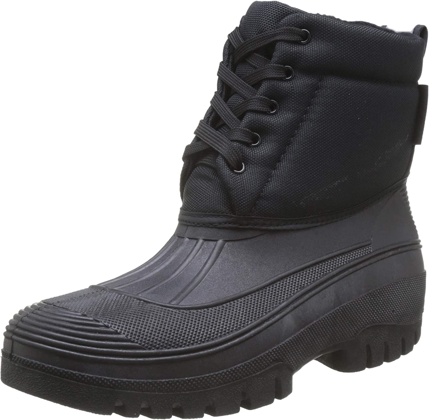 HKM Pull On Horse Riding Equestrian Winter Yard Stable Fleece Lined Mucker Boots