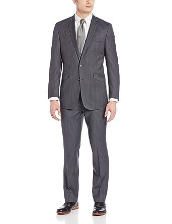 Amazon.com: Ben Sherman Men's Pinstripe Suit: Clothing