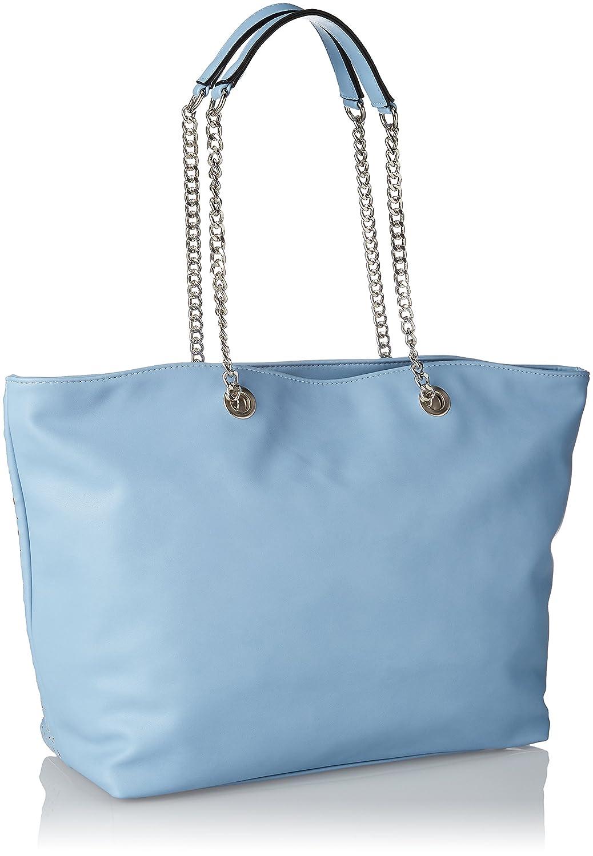 Silvian Heach Bag Monachil, Sacs portés épaule femme, Turchese (Blue Light), 15x32x46 cm (W x H L)
