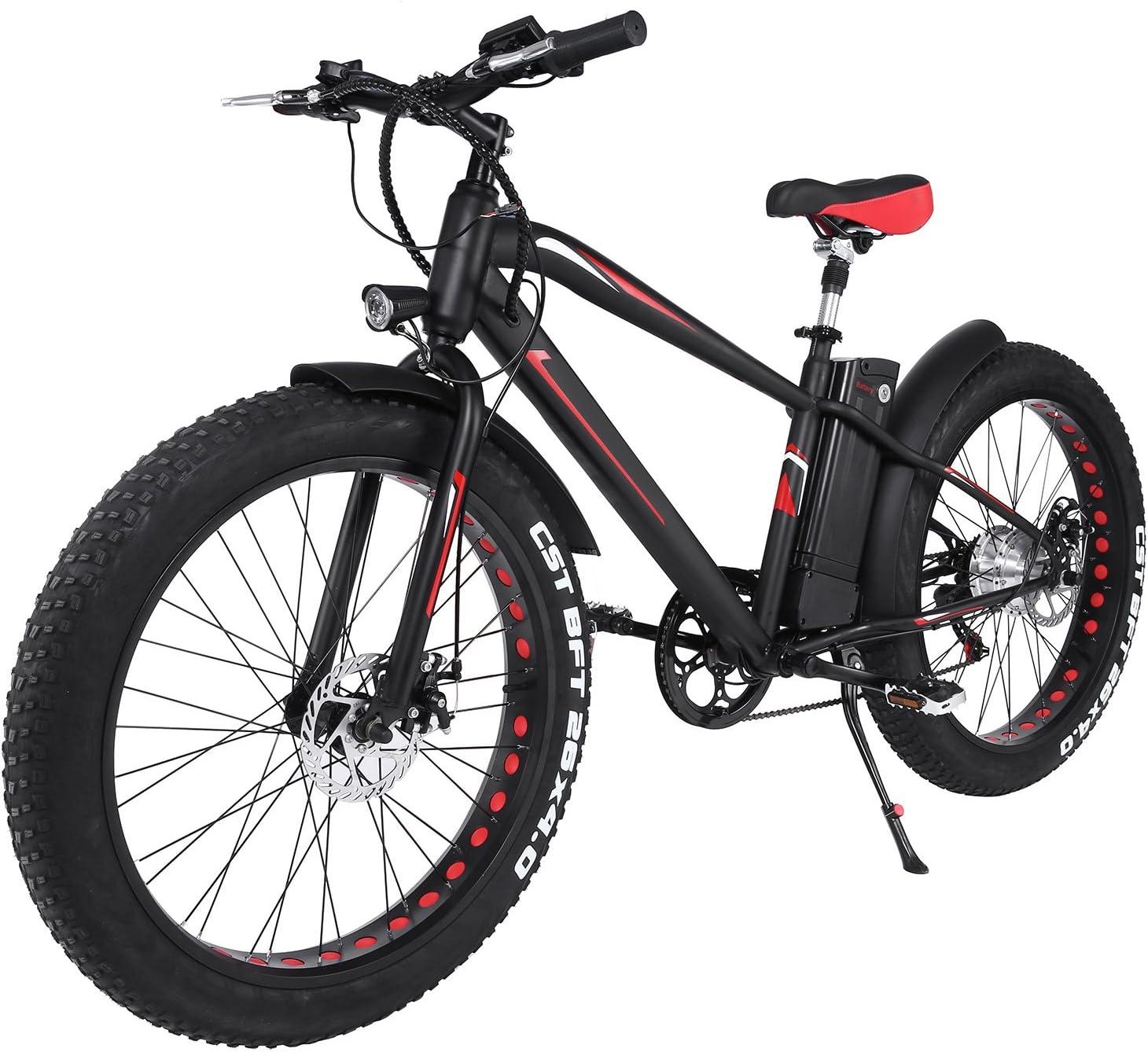 ncient bicicleta de montaña nieve montaña eléctrica, pantalla LED ...