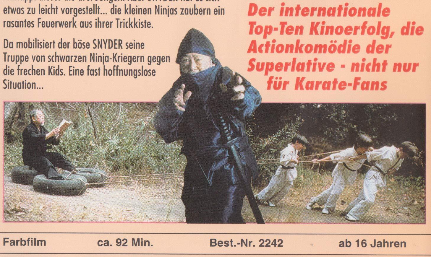 3 Ninja Kids [Alemania] [VHS]: Amazon.es: Victor Wong (III ...