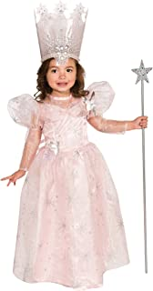 Little Girlsu0027 Glinda The Good Witch Costume  sc 1 st  Amazon.com & Amazon.com: Wizard of Oz Deluxe Glinda The Good Witch Costume Small ...