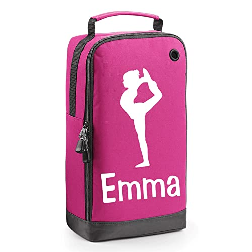 Personalised Gymnast Accessory Bag with Carry Handle - Gymnastics Motif
