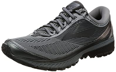 e3984fe9e67 Brooks Men s Ghost 10 Primer Grey Metallic Charcoal Ebony Athletic Shoe