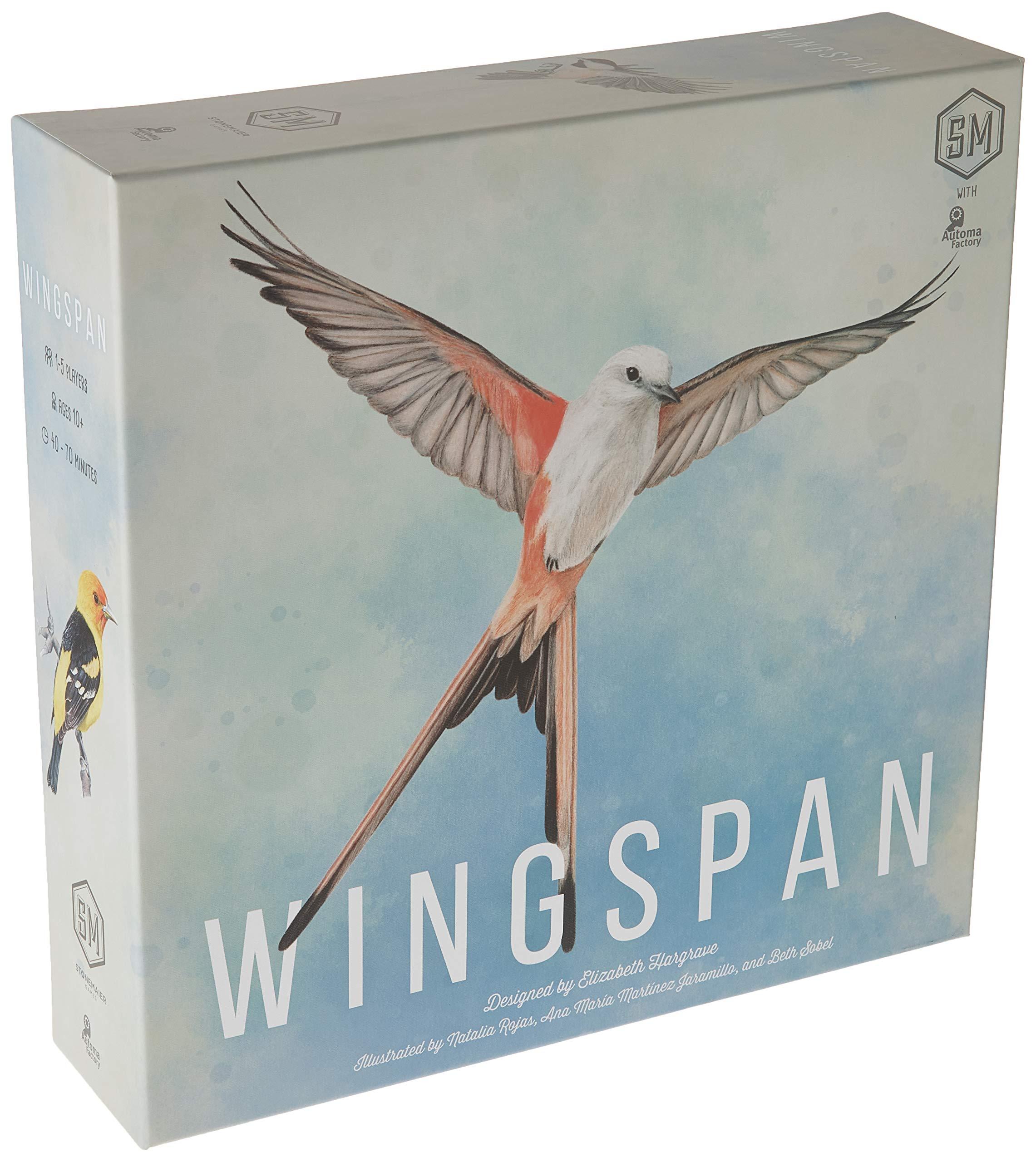 Stonemaier Games Wingspan Game 2018 Version
