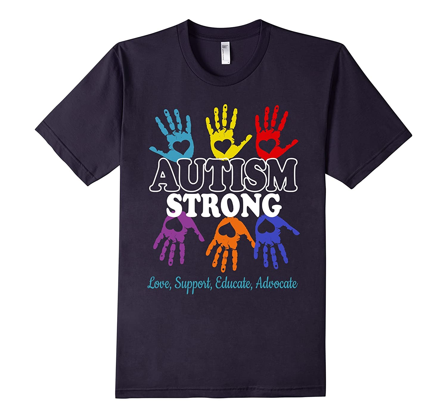 Autism Awareness T shirt For Mom  Dad Kid - Autism Strong-TH