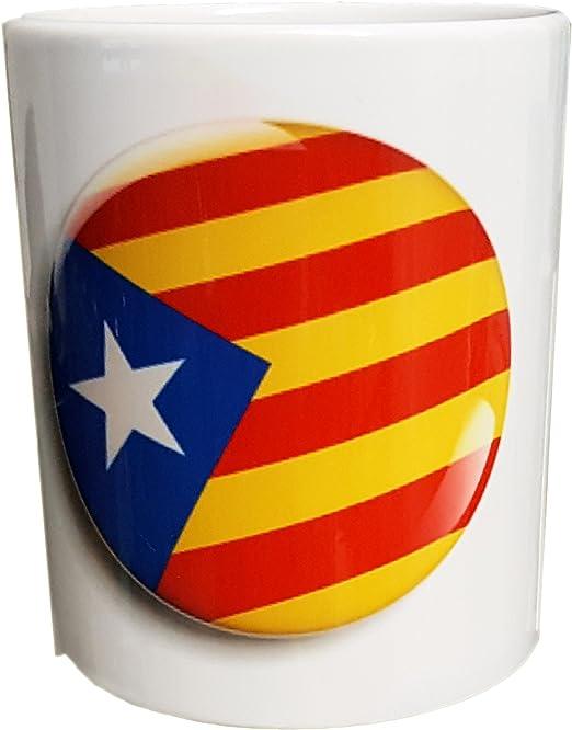 taza taza taza cataluña españa catalunya insignia: Amazon.es: Hogar