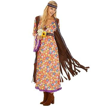 dressforfun Disfraz de Hippie Srta. Peacemaker para Mujer ...