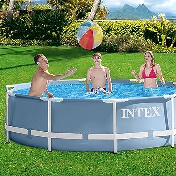 INTEX PISCINA FRAME 305X76 C/POMPA: Amazon.es: Juguetes y juegos