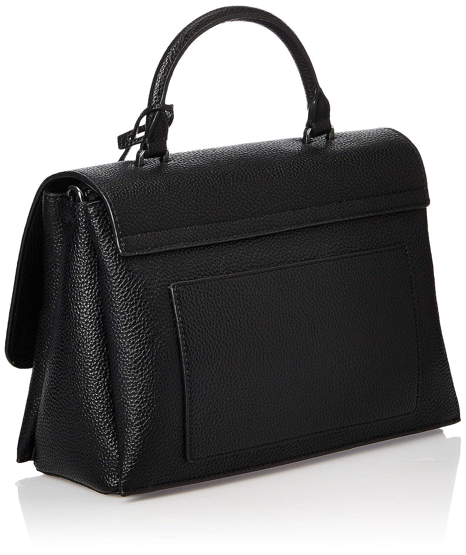 Calvin liten dam Sided top handle tornisterväska, 1 x 1 cm Svart (Black)