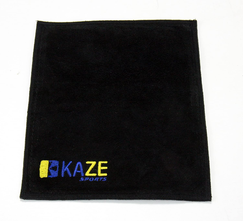 KazeスポーツプレミアムレザーShammyパッドボーリングボールクリーニングタオル