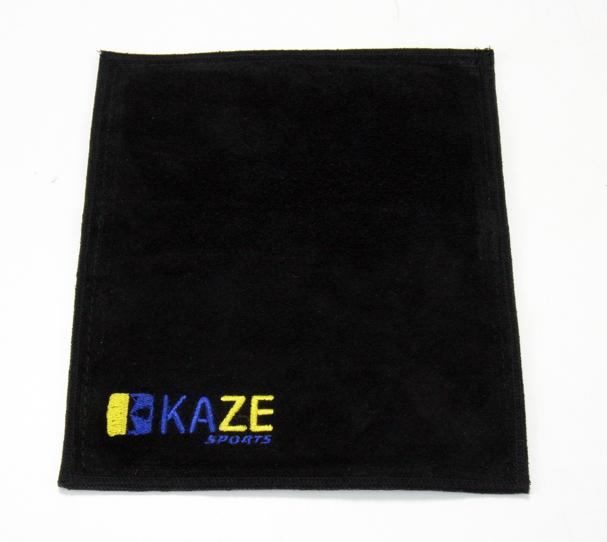 KAZE SPORTS Premium Leather Shammy Pad Bowling Ball Cleaning Towel (1) by KAZE SPORTS