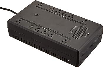 AmazonBasics Standby UPS 800VA 450W w/ 12 Outlets