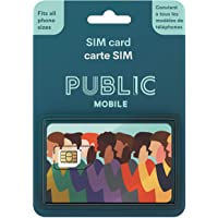 Public Mobile SIM Card for Unlocked Phones (GSM) on Canada's Largest Mobile Network