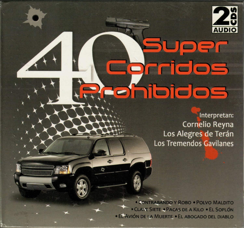 Varios Artistas - 40 Super Corridos Prohibidos (Varios Artistas 2CDs) CD2C-5736 - Amazon.com Music