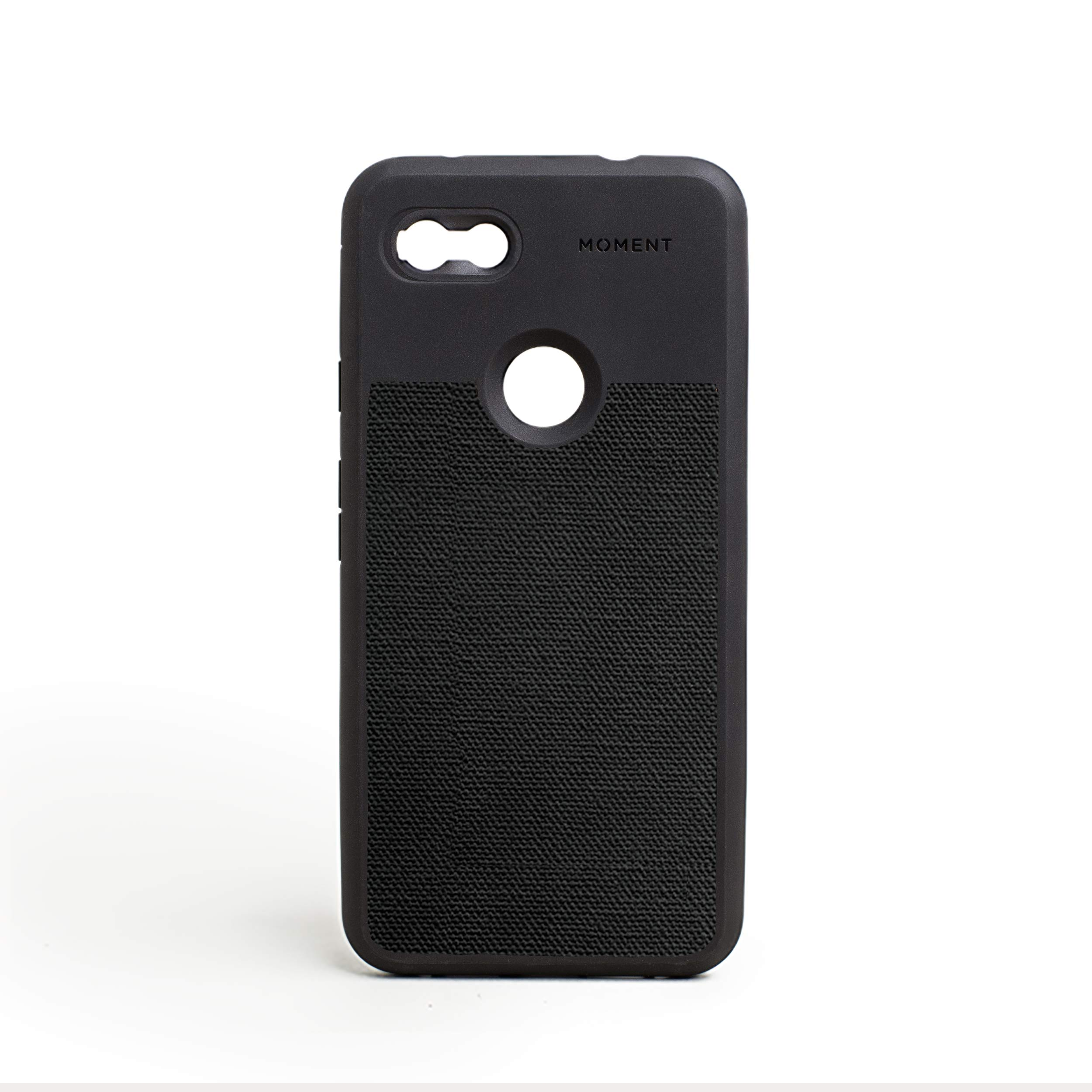 ویکالا · خرید  اصل اورجینال · خرید از آمازون · Pixel 3aXL Case || Moment Photo Case in Black Canvas - Thin, Protective, Wrist Strap Friendly case for Camera Lovers. wekala · ویکالا