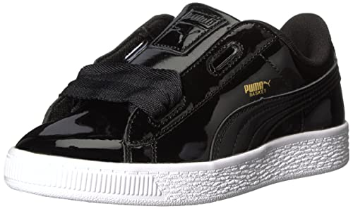 2637c20e8cc2 Puma Kids  Basket Heart Patent PS Sneaker  Amazon.co.uk  Shoes   Bags