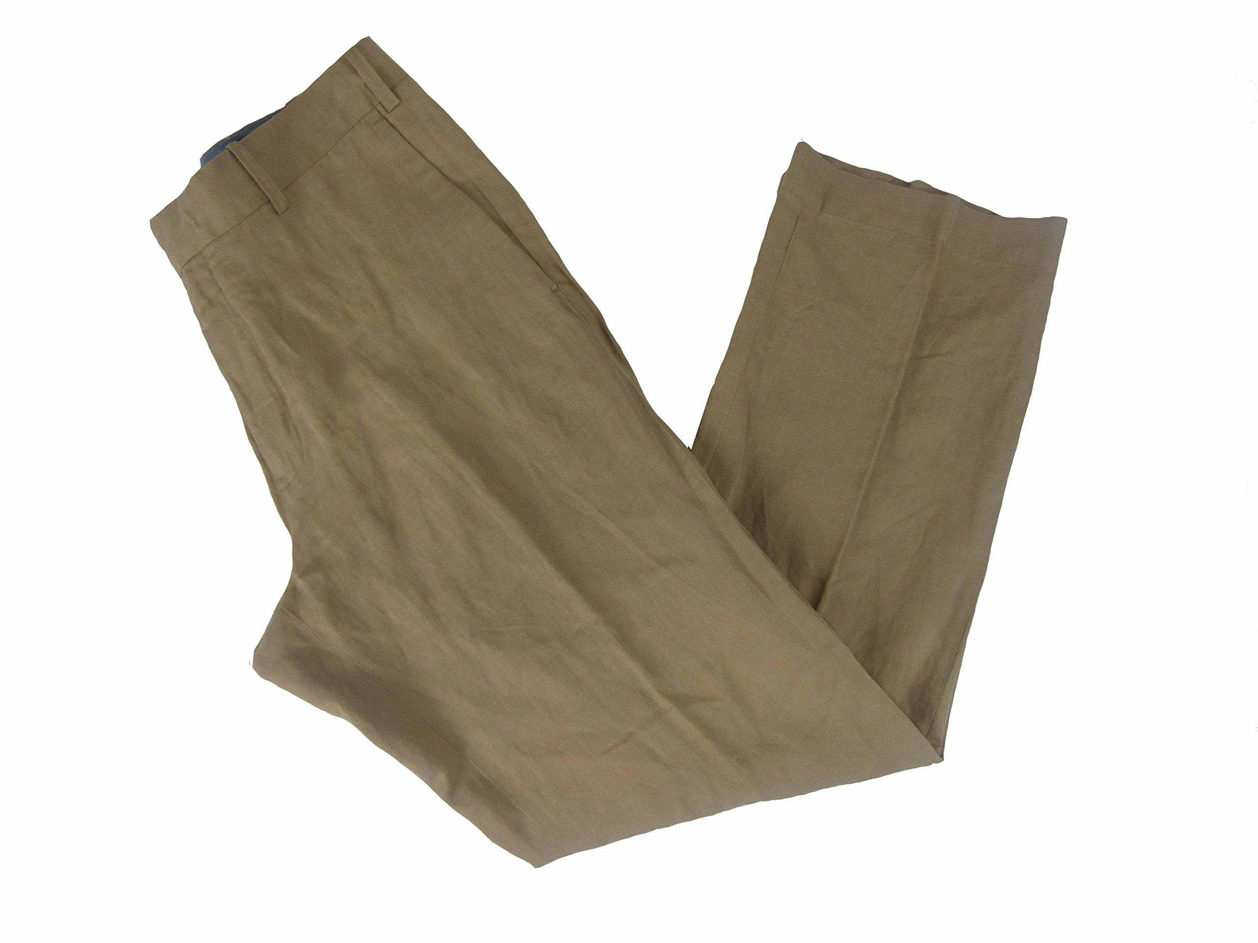 Polo Ralph Lauren Men's Classic Fit Hudson Pants (32 x 30, Tan)