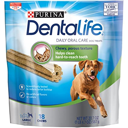 Amazon purina dentalife daily oral care large dog treats 18 purina dentalife daily oral care large dog treats 18 chews large 40 lbs publicscrutiny Image collections