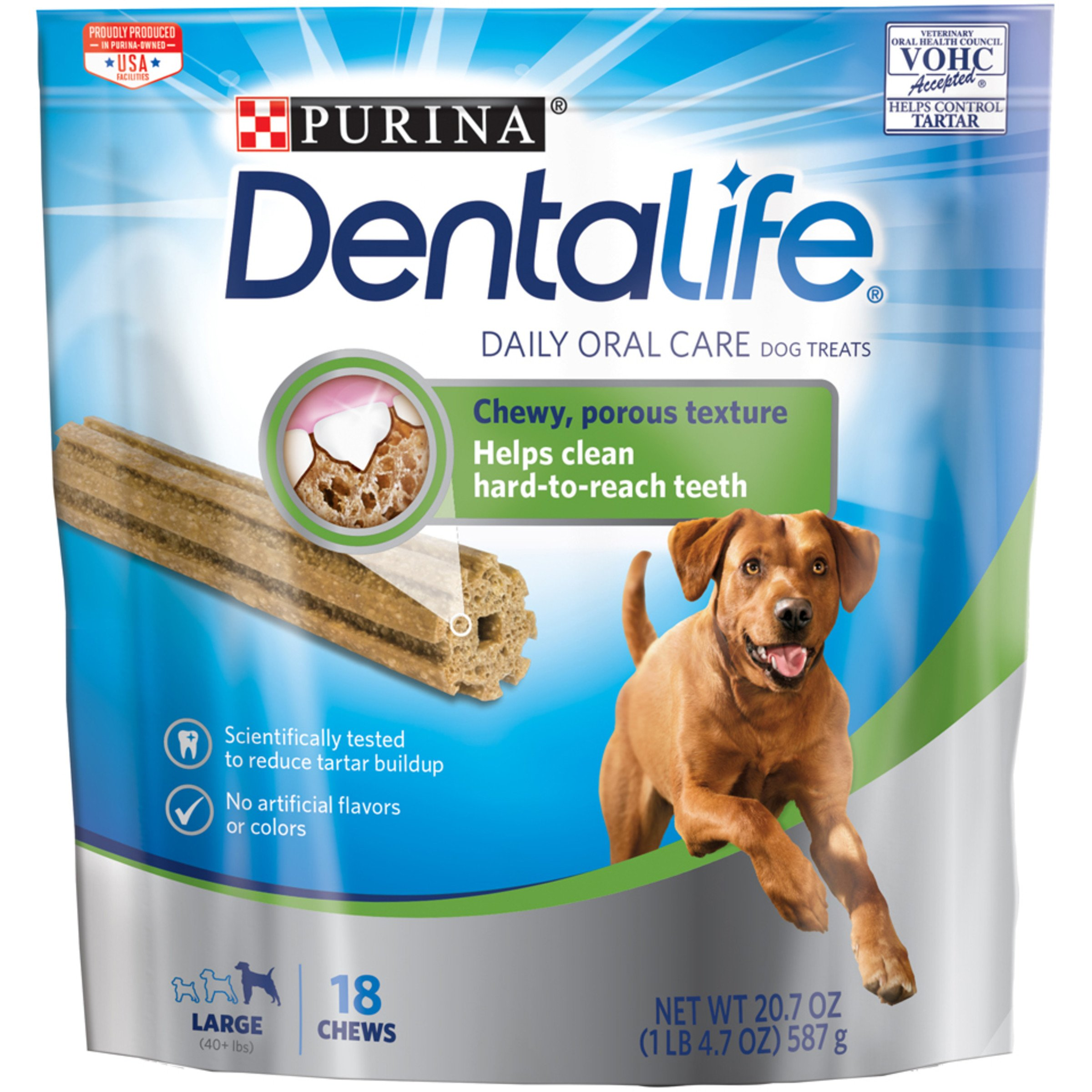 Purina DentaLife Daily Oral Care Large Dog Treats, 2 Pack