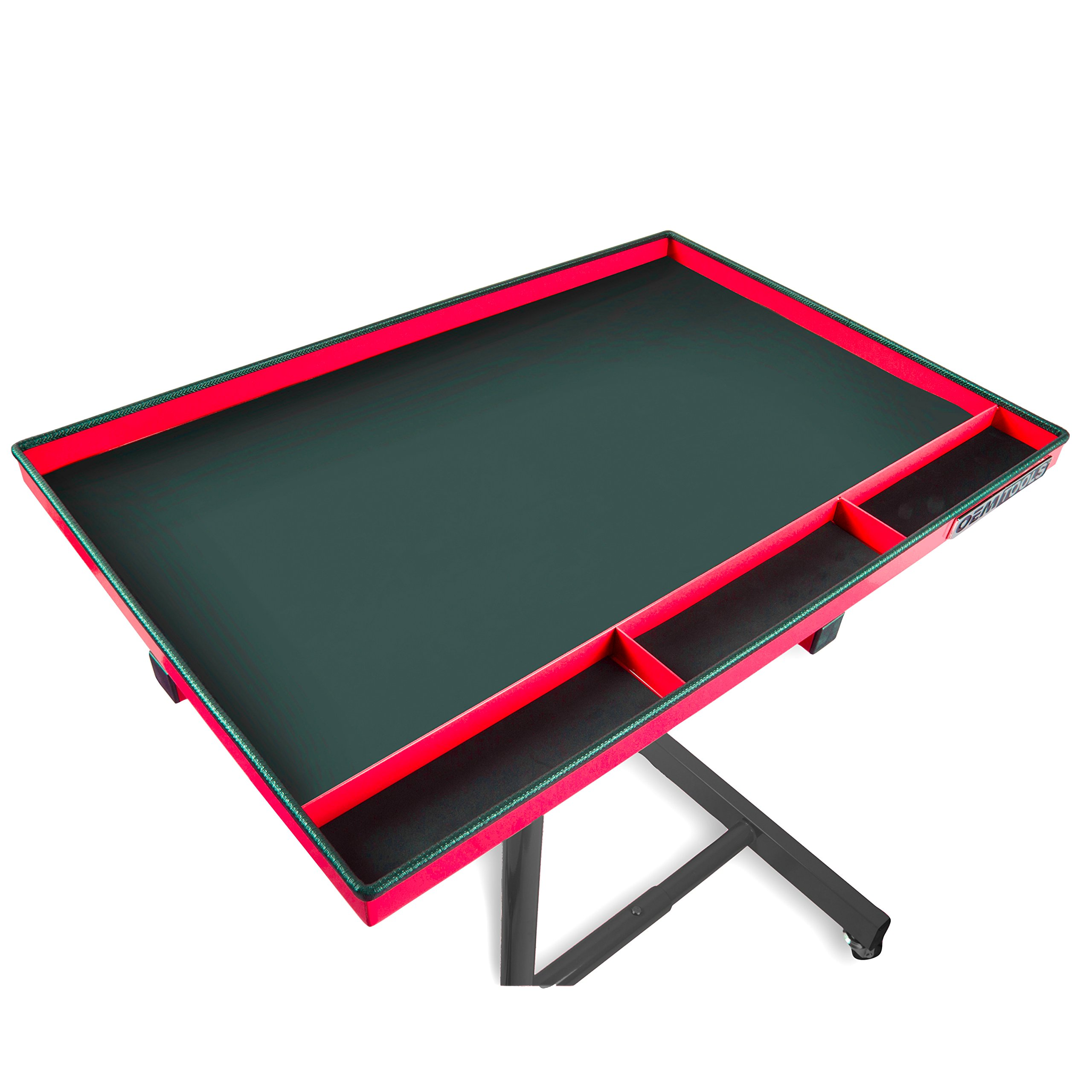 OEMTOOLS 24935 OEMTOOLS 24935 Red and Black 29'' Portable Tear Down Tray by OEMTOOLS (Image #3)