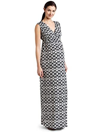 8a5f559fd4 Everly Grey Women s Maternity Jill Maternity   Nursing Tank Maxi Dress