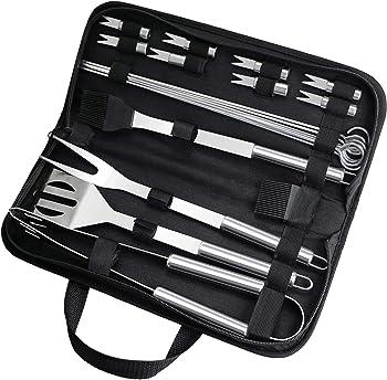 20-Piece Fixget BBQ Grill Tools Set