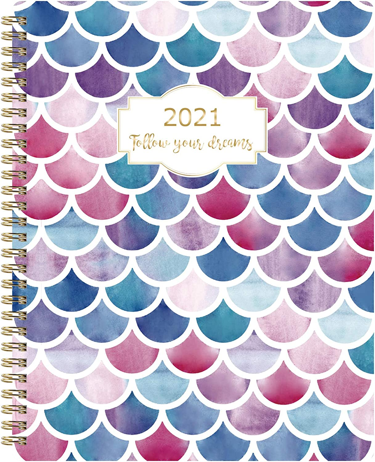 Planner 2021 - Weekly and Monthly Planner, 8'' x 9.75'', 2021 Planner from Jan. 2021 - Dec. 2021 with Check Boxes, To-Do List, Perfect for Planning Your Life or as Gift