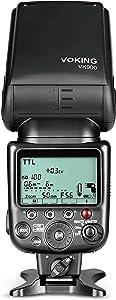 Voking V900 Master TTL Speedlite Flash for Nikon D3400 D3300 D3200 D5600 D850 D750 D7200 D5300 D5500 D500 D7100 D3100 D3500 and Other Nikon DSLR Cameras