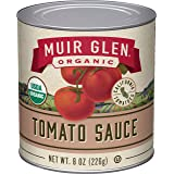 Muir Glen Organic Tomato Sauce, No Sugar Added, 8 Ounce Can (Pack of 24)