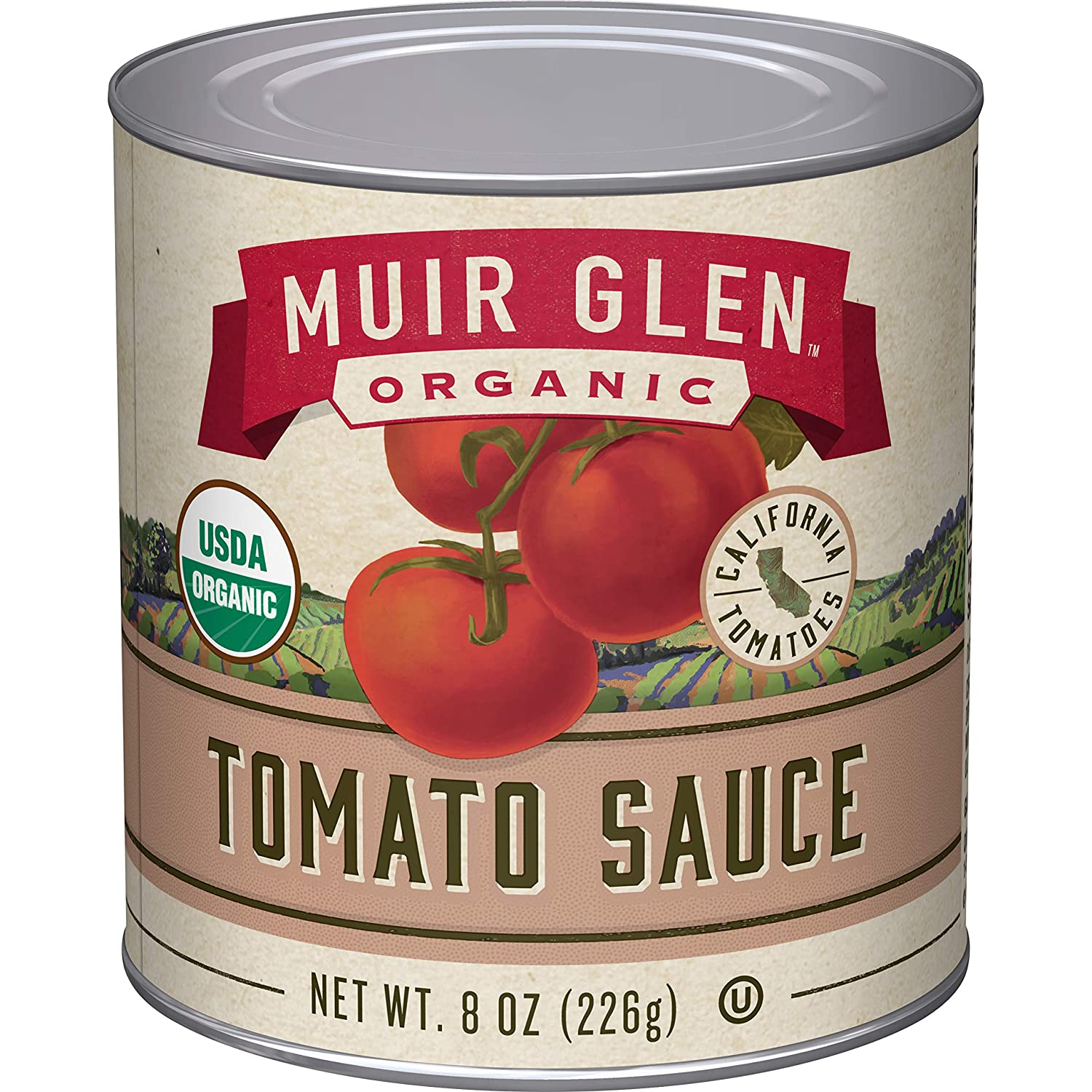 Muir Glen Organic Tomato Sauce, No Sugar Added