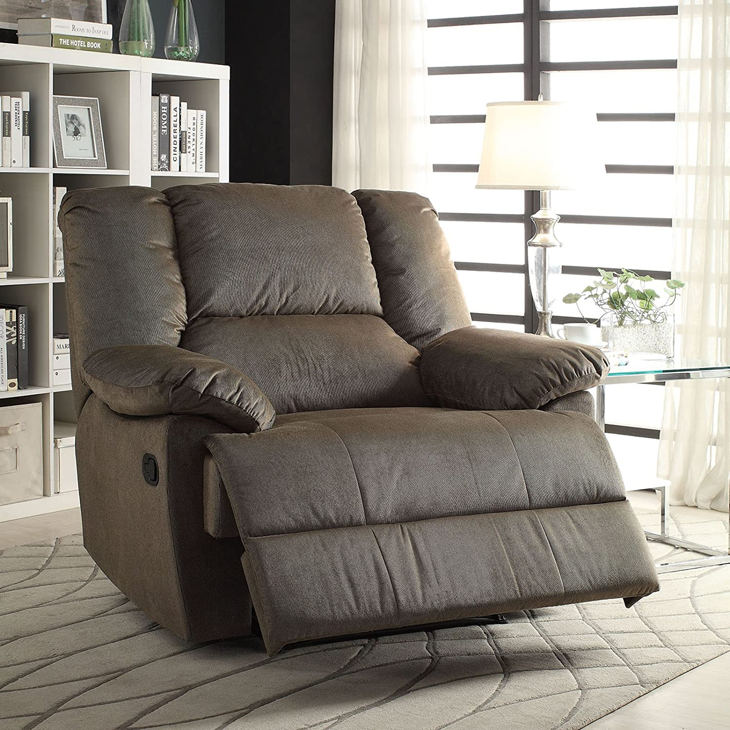 Amazon ACME Furniture Oliver Oversized Glider Recliner