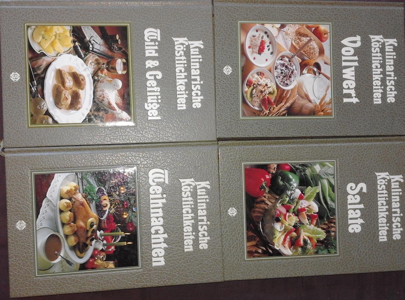 Schönes Konvolut Kulinarische Köstlichkeiten: Vollwert.// Salate ...