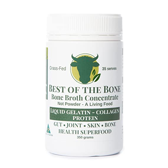 Organic Beef Bone Broth Gelatin - Supports Joint Health, Boost Immunity - Fresh, Natural