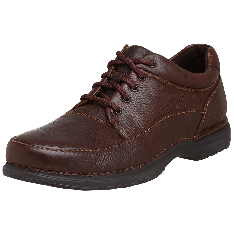 Rockport Men's Encounter Walking Shoe 11.5 D(M) US|Dark Brown Tumbled Leather