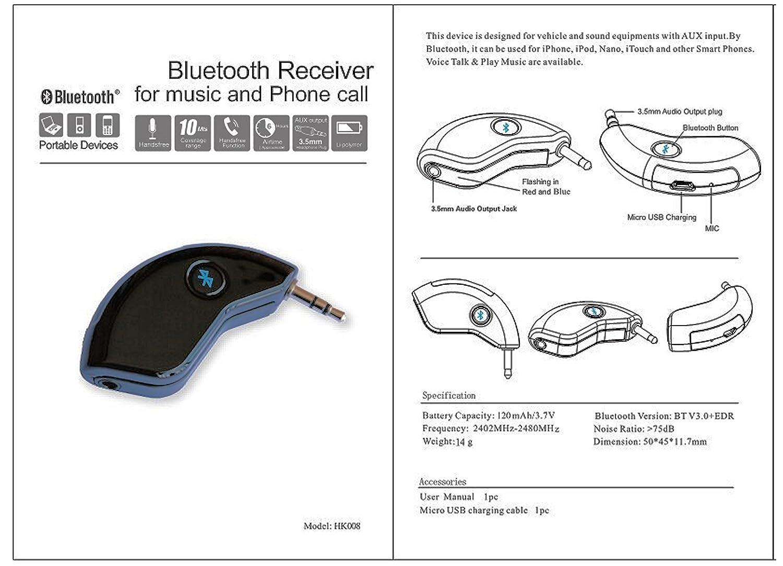 800/mAh Ricevitore per ricarica QI per Samsung Galaxy S5,/wireless