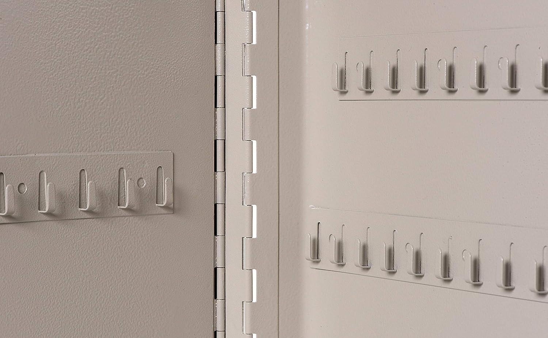 LxBxT 5652084 1 St/ück Stahlschrank Grau 20 x 16,5 x 6 cm Maul Schl/üsselkasten 20 Schl/üssel